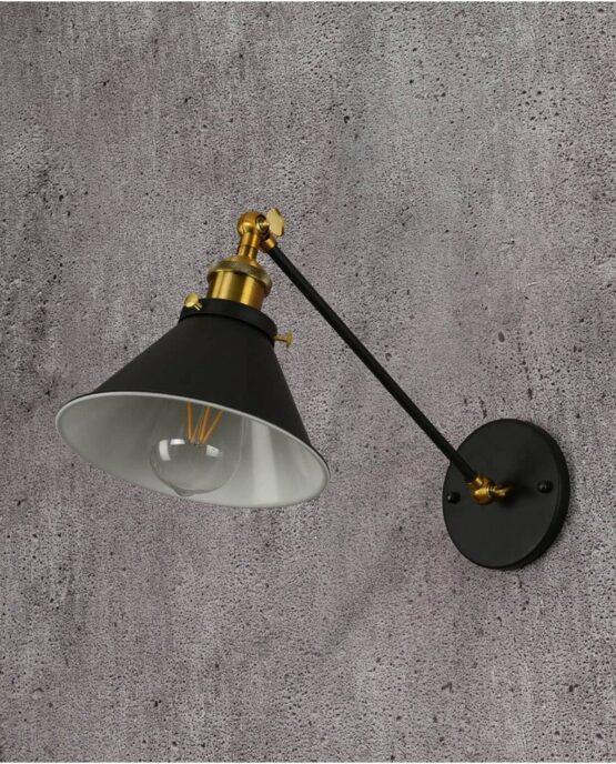 Lampada da parete a braccio flessibile Gubi w1 Lampadevintage.it