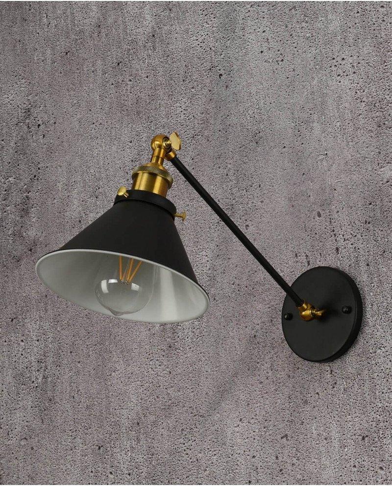 Lampada da parete a braccio flessibile Gubi w1 Lampadevintage.it 1 test