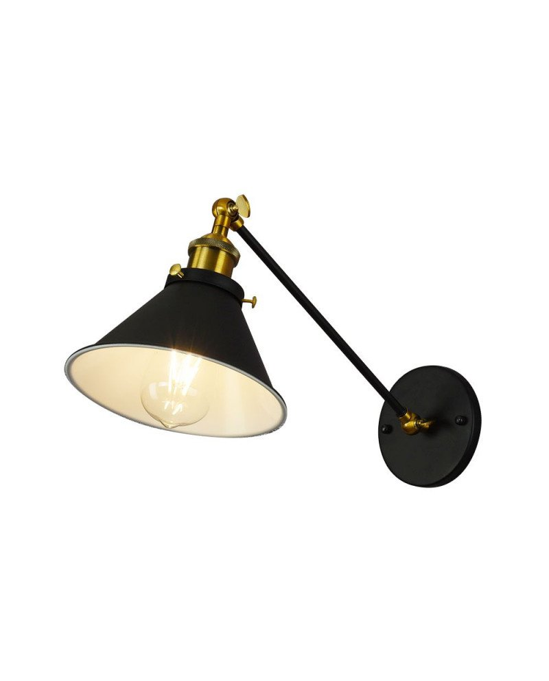 Lampada da parete a braccio flessibile Gubi w1 Lampadevintage.it 12 test