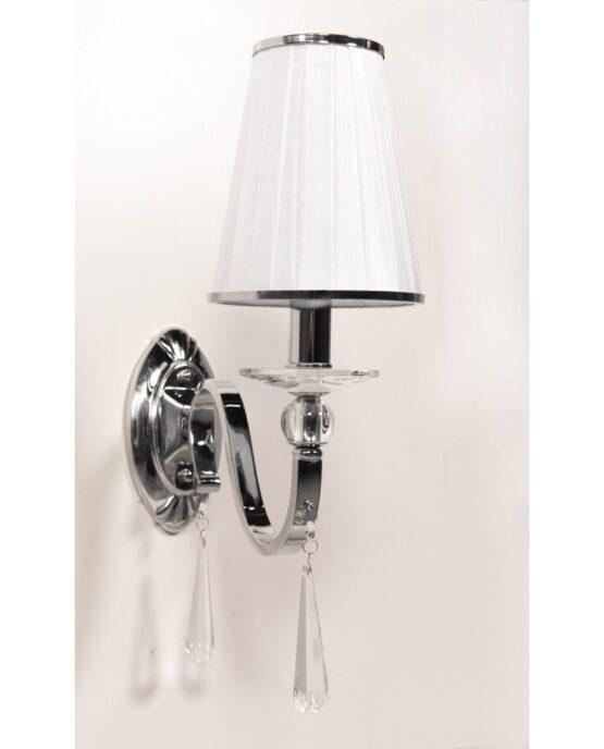 applique elegante in stile classico con cristalli