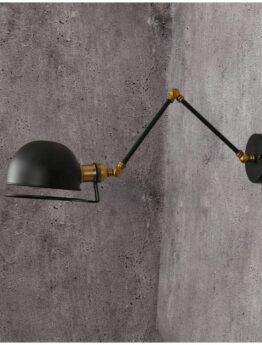 lamapada a muro telescopica da parete con braccio orientabile