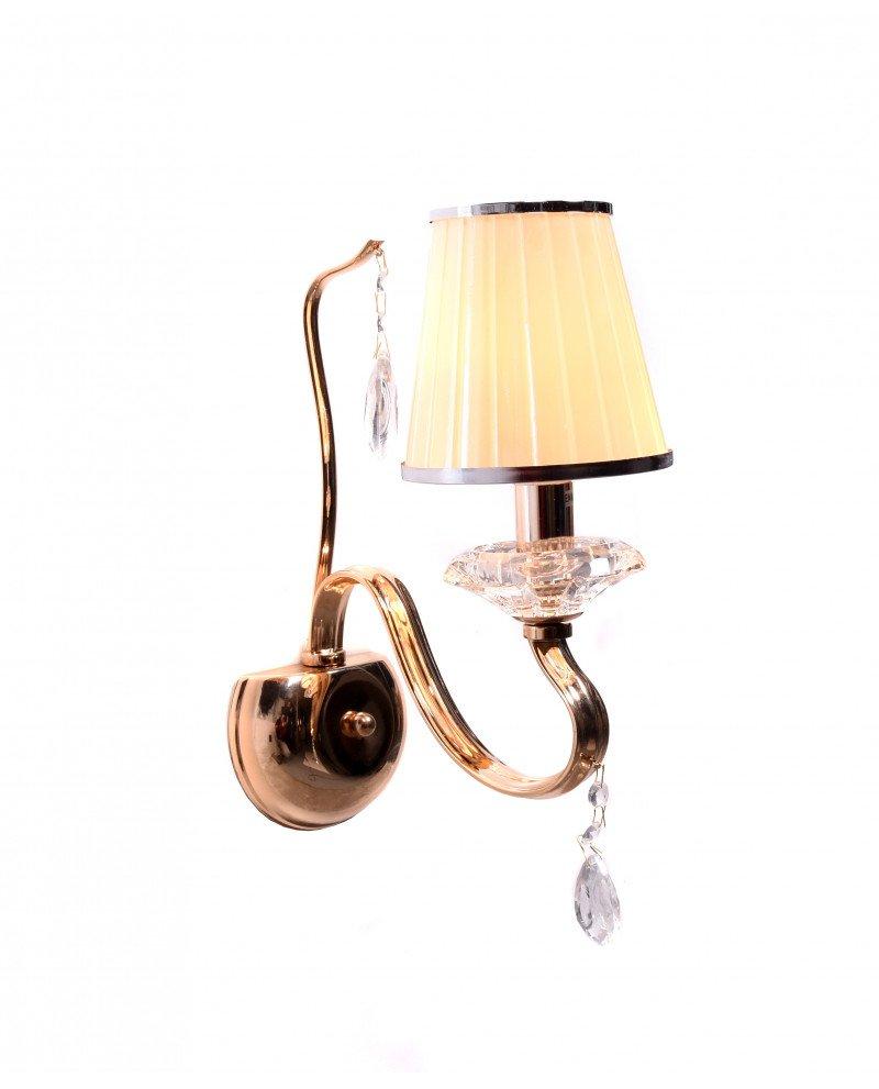 lampade a parete cristallo classica