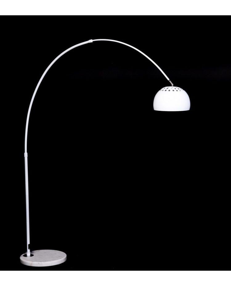 lampada terra di colore bianco
