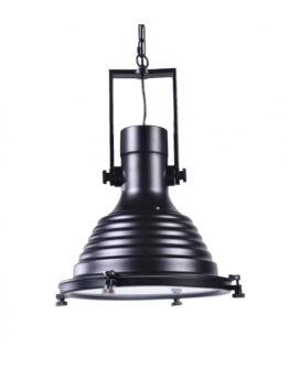 lampade industrial chic nera