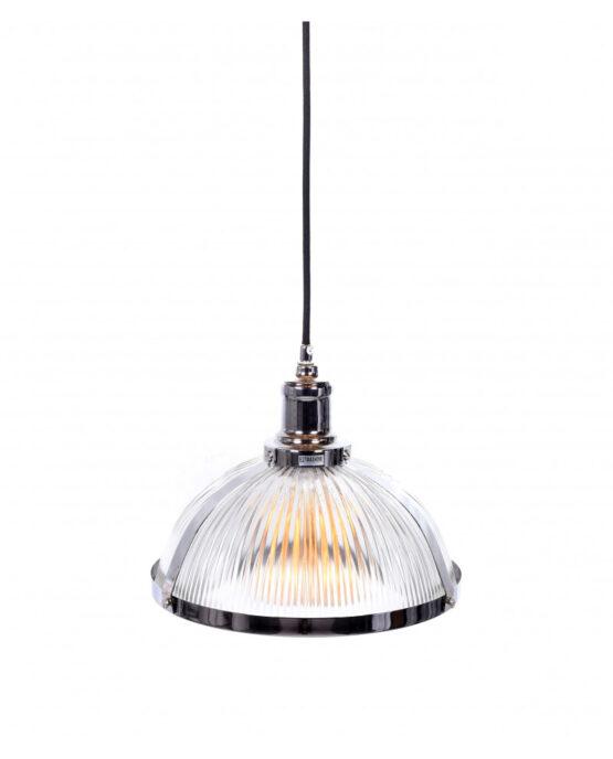 lampada vetro cromata vintage cucina