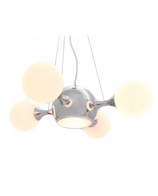 moderno lampadario sfere vetro