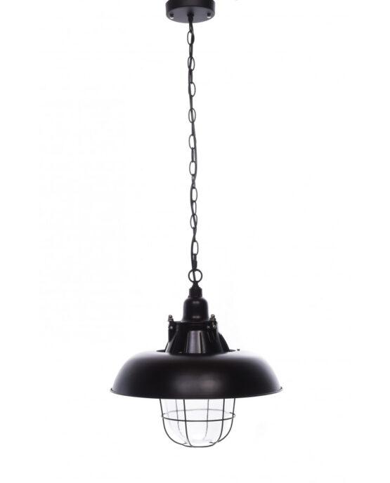 lampade stile industriale a sospensione nere