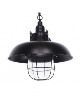 lampade soffitto stile industriale nere