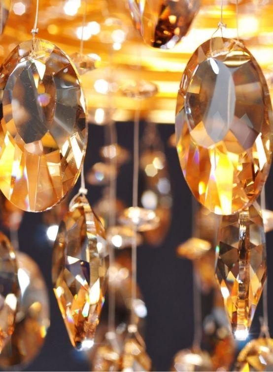 cristalli lampadari a sospensione