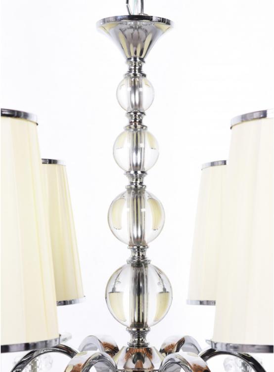 decorazioni cristallo lampadario classico molto elegante