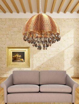 lampade soffitto cristalli