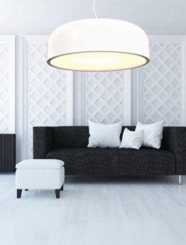 lampada moderna bianca grande