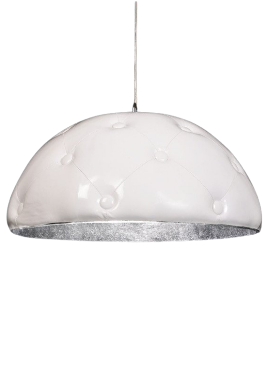 lampada con paralume chesterfield borchiato