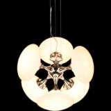 lampade soffitto design vetro bianco