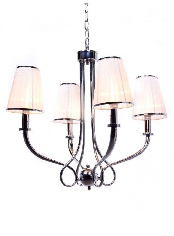lampada sospensione classica moderna 4 luci