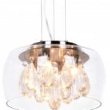 lampadario sospensione cristalli