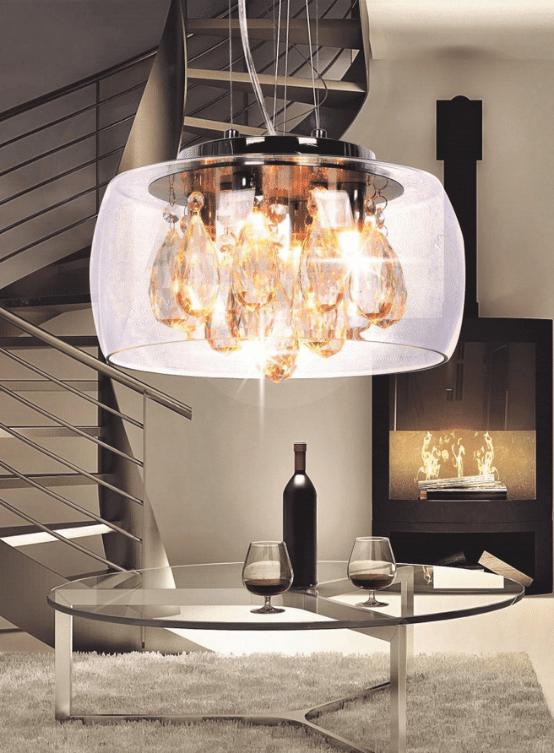 lampadario cristalli swarovski
