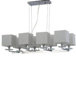 lampade sospensione 8 luci per soggiorno