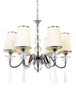 lampadari 6 luci stile classico moderno con cristalli swarowski