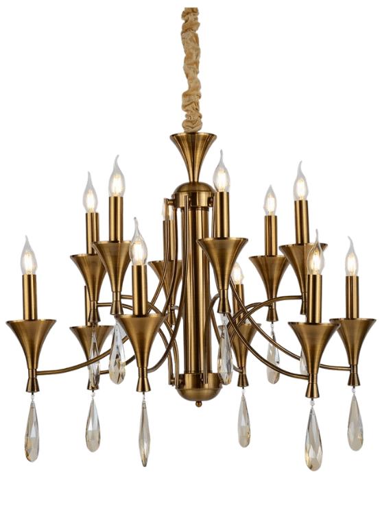 lampadari classici candele ottone stile classico moderno