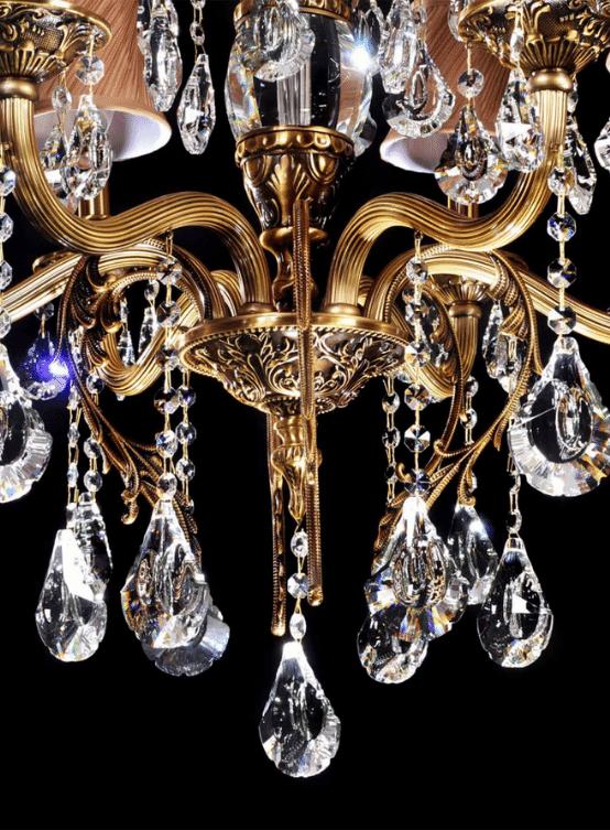 lampadari classici eleganti stile antico cristalli