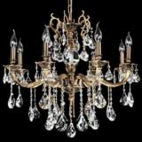 lampadari classici eleganti in stile antico con cristalli