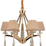 lampadari classici oro con 6 luci lampadari a sospensione design