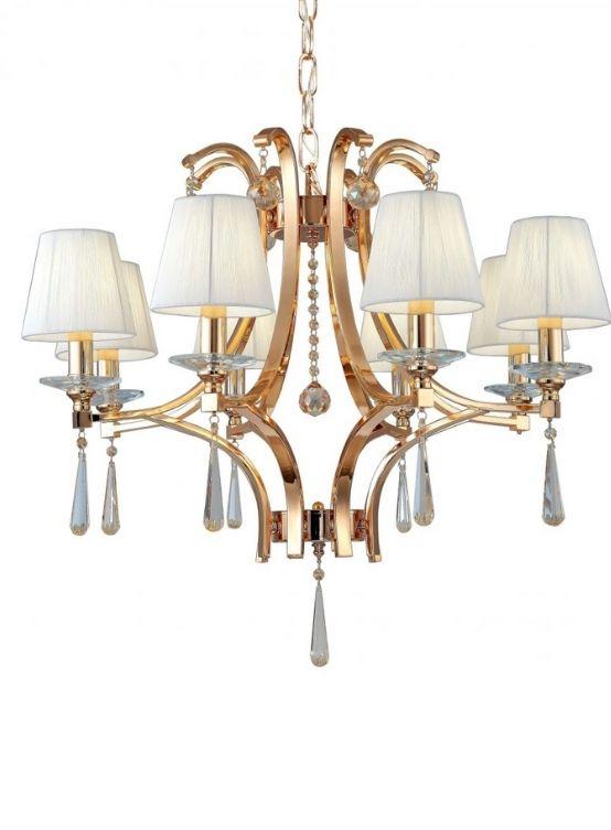 lampadari classici oro e cristalli venisia
