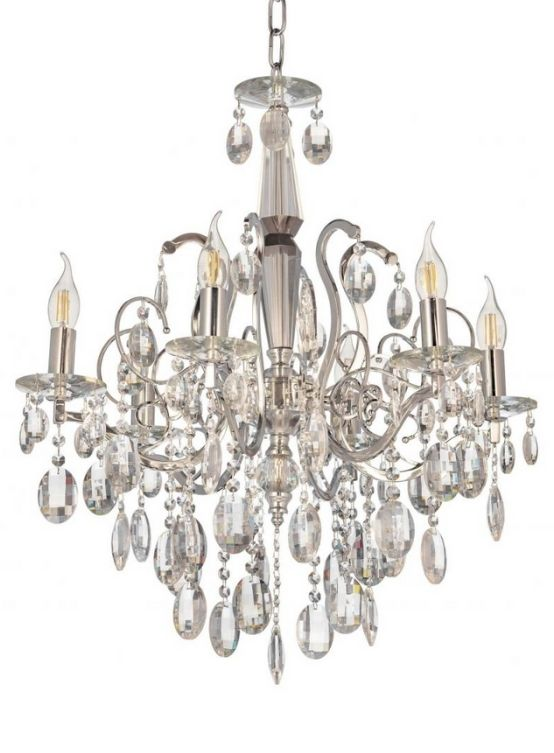 lampadari cristalli senza paralume led