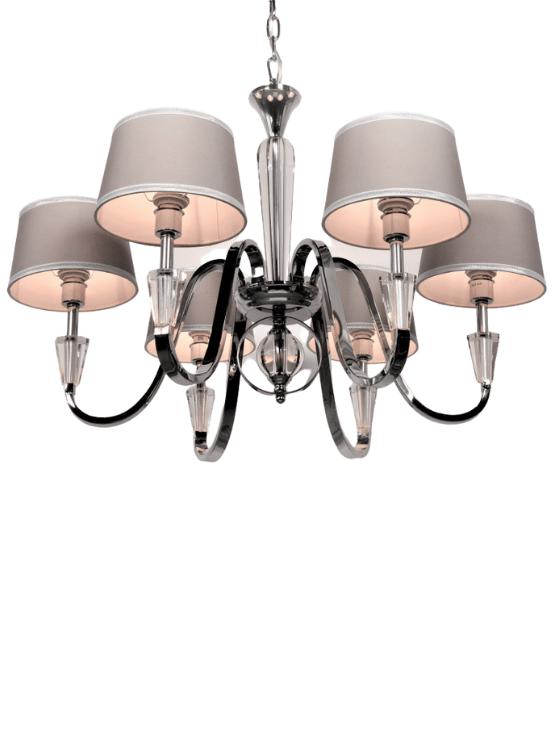 lampadari salotto cristalli swarowski 6 luci