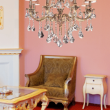lampadari cristallo ottone classici belli