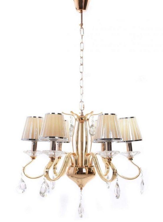 lampadari gocce di cristallo con cavo a catena e paralumi