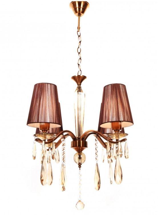 lampadari ottone classici 4 luci a soffitto