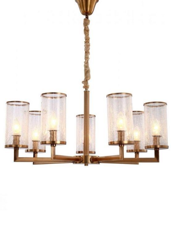 lampadari a sospensione classici ottone e vetro