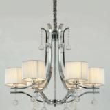 lampadario a sospensione classico 6 luci stile classico moderno