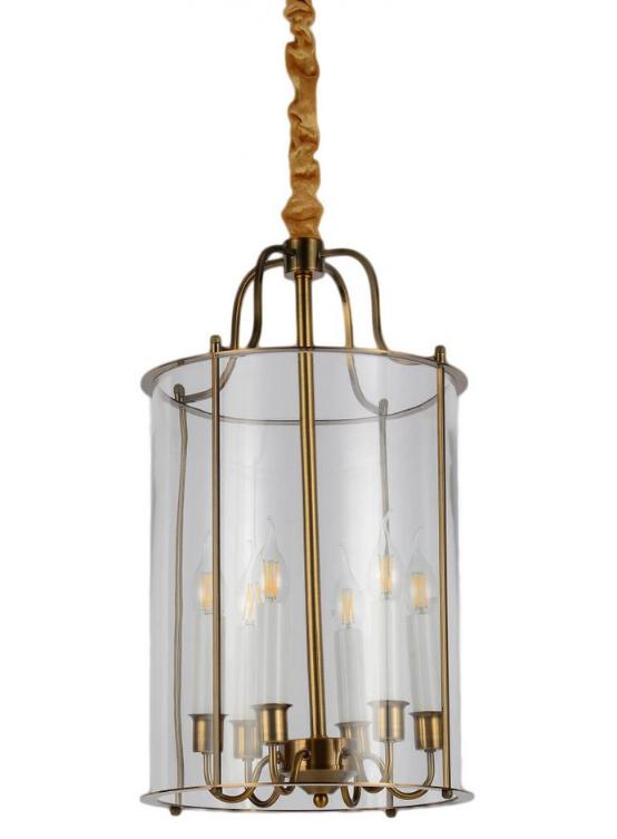 lampadario con candele in stile moderno