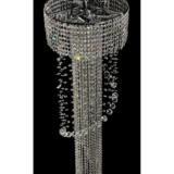 lampadario cascata cristalli a sospensione