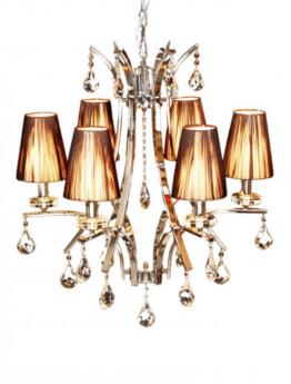 lampadario classico colori caldi a sospensione
