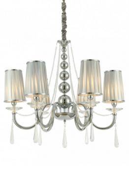lampadario classico cristallo 6 punti luce