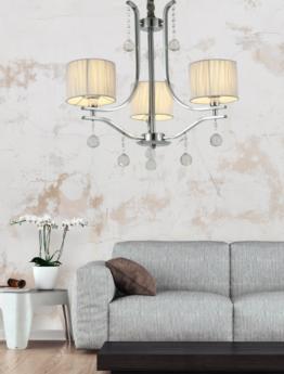 lampadario classico moderno 3 luci a sospensione