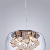 lampadario cristallo vetro moderno