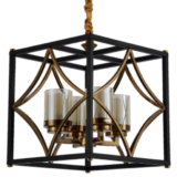 lampadario in metallo di design
