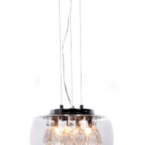 lampadario cristalli moderno