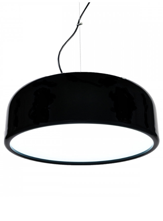 lampadario moderno nero lucido