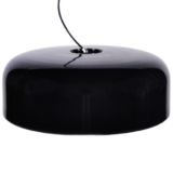lampadario nero lucido moderno