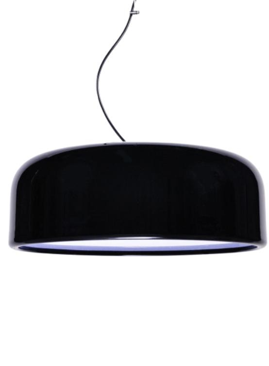 lampadario nero moderno