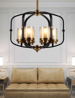 lampadario ottone nero camera da letto