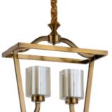 lampadario ottone vintage moderno