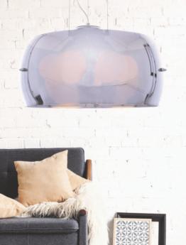 lampadario rotondo vetro