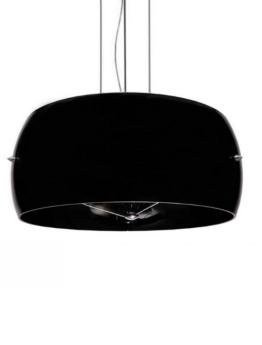 lampadario sferico nero design moderno
